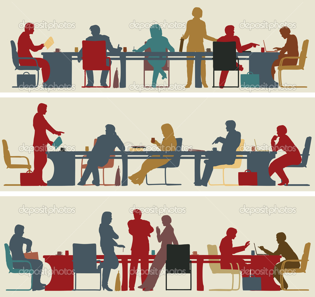 Business meeting stock vector 169 tawng 6445782