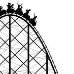 Rollercoaster — Stock Vector #6459966