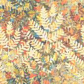 Floral wallpaper tile — Stok Vektör