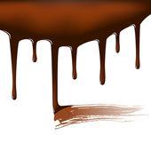Chocolate temptation — Stock Vector