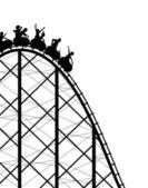 Rollercoaster — Wektor stockowy