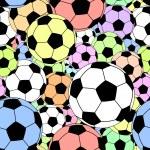 Football tile — Stock Vector
