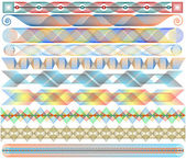 Colorful strips — Stock Vector