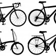 Bicycles — Vettoriali Stock