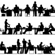 Business meeting - Imagens vectoriais em stock