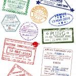 Planet visas — Stock Vector