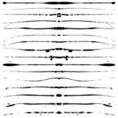 Grunge lines — Stock Vector