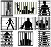 Incarcerated — Stock Vector