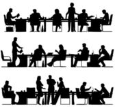 Business meeting — Stockvector