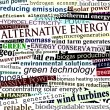 Alternative energy headlines — Imagen vectorial