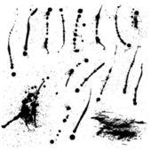 Ink spills — Stock Vector