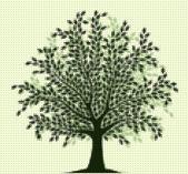 Árbol de semitono — Vector de stock
