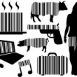 Royalty-Free Stock Vector Image: Barcode elements