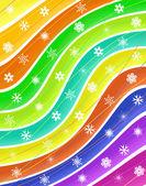 Snow stripes — Stock Vector