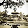Chinese Architecture in Garden — Stock Photo