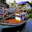 Stockfoto: Colorful Thai Fishing boats