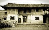 Tradtional Chinese Farmhouse — Stock Photo