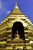 Thailand Gold Temple — Stock Photo