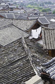 Chinese Rooftops — Stock Photo