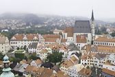 Cityscape of Cesky Krumlov — Stock Photo