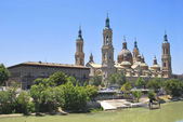 Basilica del Pilar — Stock Photo