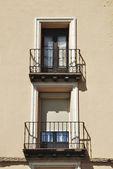 Viejo balcón — Foto de Stock