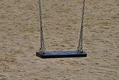 Lonely swing — Stock Photo