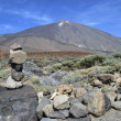 Cairn in Mount Teide — Stock Photo