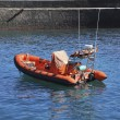 Foto Stock: Rescue boat