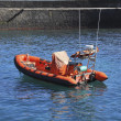 Stock Photo: Rescue boat