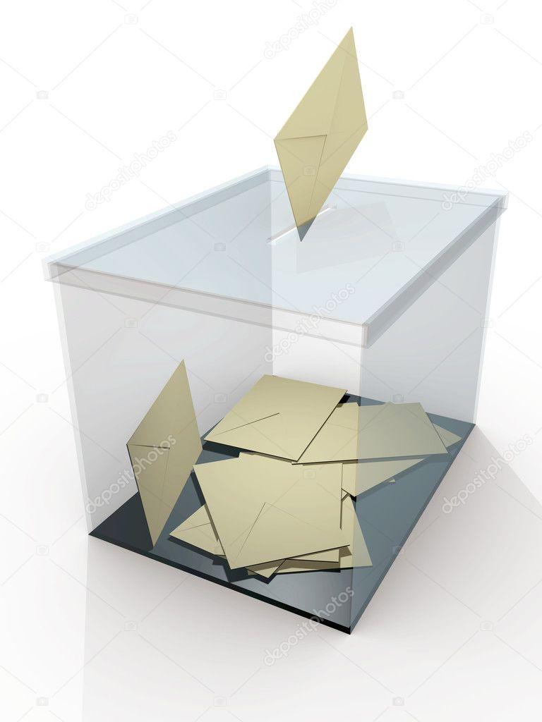 Ballot box vote — Stock Photo © alfonsodetomas #6425467