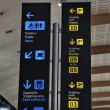 Stock Photo: Airport panel