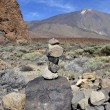 Cairn in tenerife — Stock Photo