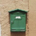 Green mailbox — Stock Photo #6432931