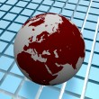 Stock Photo: Worldmap background4