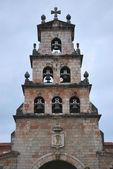Zvonice cangas — Stock fotografie
