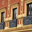 Antique balcony - Stockfoto