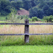 Wooden fence — Stock Photo #6456489
