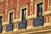 Antique balcony — Stock Photo