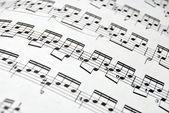Music Sheet2 — Stock Photo