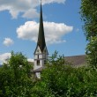 Church steeple — Foto Stock