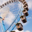 Ferris wheel at the Octoberfest — Stock Photo