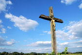 Country cross — Stock Photo