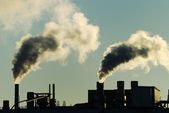 Luchtverontreiniging — Stockfoto
