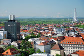 Uitzicht over münchen — Stockfoto