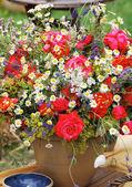 Vase of flowers — Stock Photo