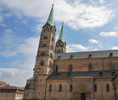 Imperial cathedral in Bamberg — Stock Photo