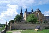 Michaelsberg klášter v bambergu — Stock fotografie