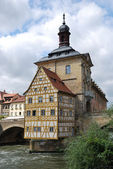 Old town hall Bamberg — Stock Photo