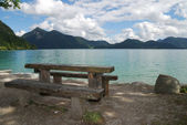 Lake Walchensee — Stock Photo